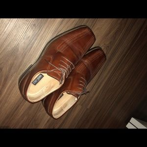 Luxury Brown Hard Bottom Shoes